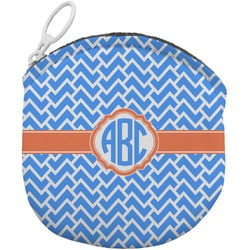 Zigzag Round Coin Purse (Personalized)