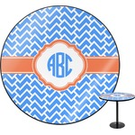 Zigzag Round Table (Personalized)