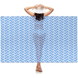Zigzag Sheer Sarong (Personalized)