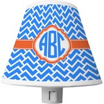 Zigzag Shade Night Light (Personalized)