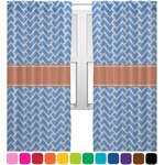 Zigzag Sheer Curtains (Personalized)