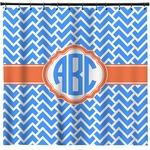 Zigzag Shower Curtain (Personalized)
