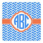 Zigzag Square Decal - Custom Size (Personalized)