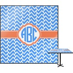 Zigzag Square Table Top (Personalized)