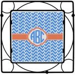 Zigzag Square Trivet (Personalized)