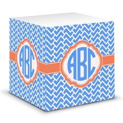 Zigzag Sticky Note Cube (Personalized)