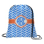 Zigzag Drawstring Backpack (Personalized)