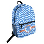 Zigzag Student Backpack (Personalized)