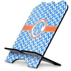 Zigzag Stylized Tablet Stand (Personalized)