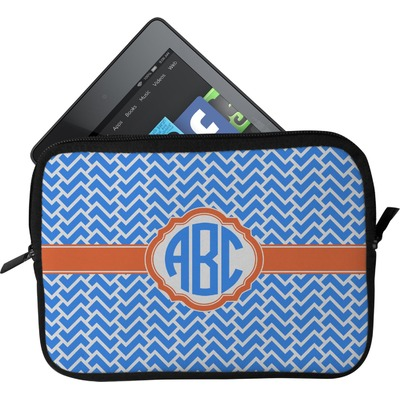 Zigzag Tablet Case / Sleeve (Personalized)