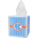 Zigzag Tissue Box Cover (Personalized)