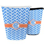 Zigzag Waste Basket (Personalized)