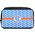 Zigzag Toiletry Bag / Dopp Kit (Personalized)