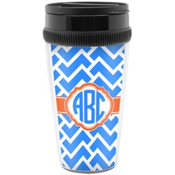 Zigzag Travel Mug (Personalized)