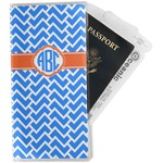 Zigzag Travel Document Holder