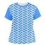Zigzag Women's Crew T-Shirt (Personalized)