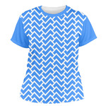 Zigzag Women's Crew T-Shirt (Personalized)