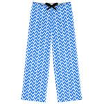 Zigzag Womens Pajama Pants (Personalized)