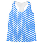 Zigzag Womens Racerback Tank Top (Personalized)