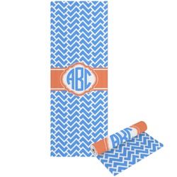 Zigzag Yoga Mat - Printable Front and Back (Personalized)