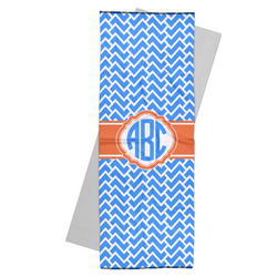 Zigzag Yoga Mat Towel (Personalized)