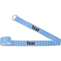 Zigzag Yoga Strap (Personalized)