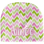 Pink & Green Geometric Baby Hat (Beanie) (Personalized)