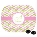 Pink & Green Geometric Car Side Window Sun Shade (Personalized)