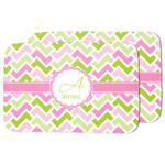 Pink & Green Geometric Dish Drying Mat (Personalized)