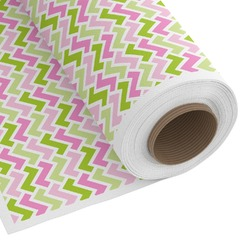 Pink & Green Geometric Custom Fabric by the Yard (Personalized)