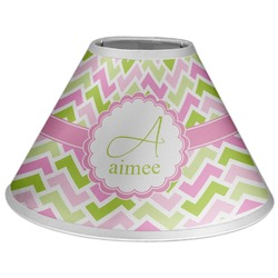 Pink & Green Geometric Coolie Lamp Shade (Personalized)