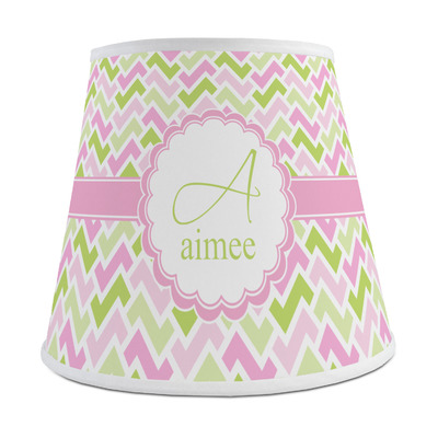 Pink & Green Geometric Empire Lamp Shade (Personalized)