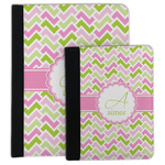 Pink & Green Geometric Padfolio Clipboard (Personalized)