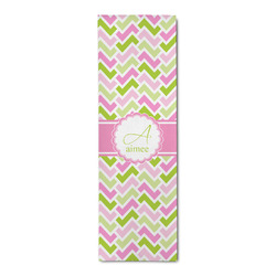 Pink & Green Geometric Runner Rug - 3.66'x8' (Personalized)