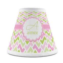 Pink & Green Geometric Chandelier Lamp Shade (Personalized)