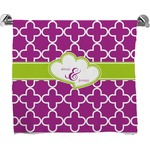 Clover Full Print Bath Towel (Personalized)