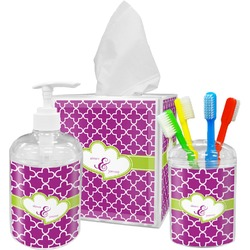 Clover Bathroom Accessories Set (Personalized)