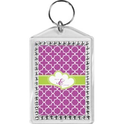 Clover Bling Keychain (Personalized)
