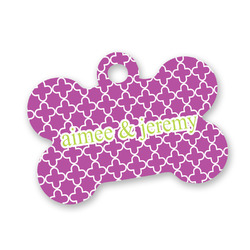Clover Bone Shaped Dog ID Tag (Personalized)