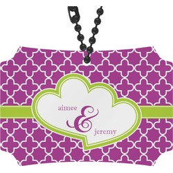 Clover Rear View Mirror Ornament (Personalized)