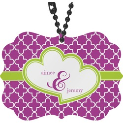 Clover Rear View Mirror Charm (Personalized)