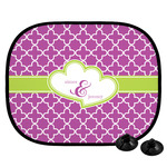 Clover Car Side Window Sun Shade (Personalized)