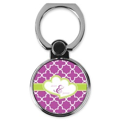Clover Cell Phone Ring Stand & Holder (Personalized)