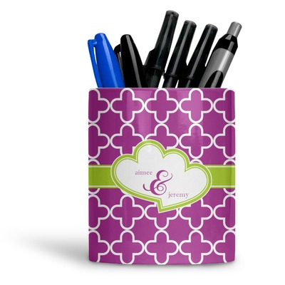 Clover Ceramic Pen Holder