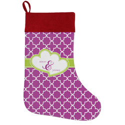 Clover Holiday / Christmas Stocking (Personalized)