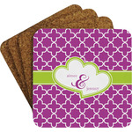 Clover Coaster Set w/ Stand (Personalized)