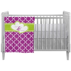 Clover Crib Comforter / Quilt (Personalized)