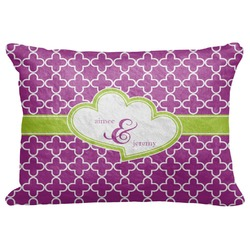 """Clover Decorative Baby Pillowcase - 16""""x12"""" (Personalized)"""