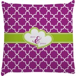 Clover Decorative Pillow Case (Personalized)