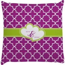 Clover Decorative Pillow Case (Personalized)